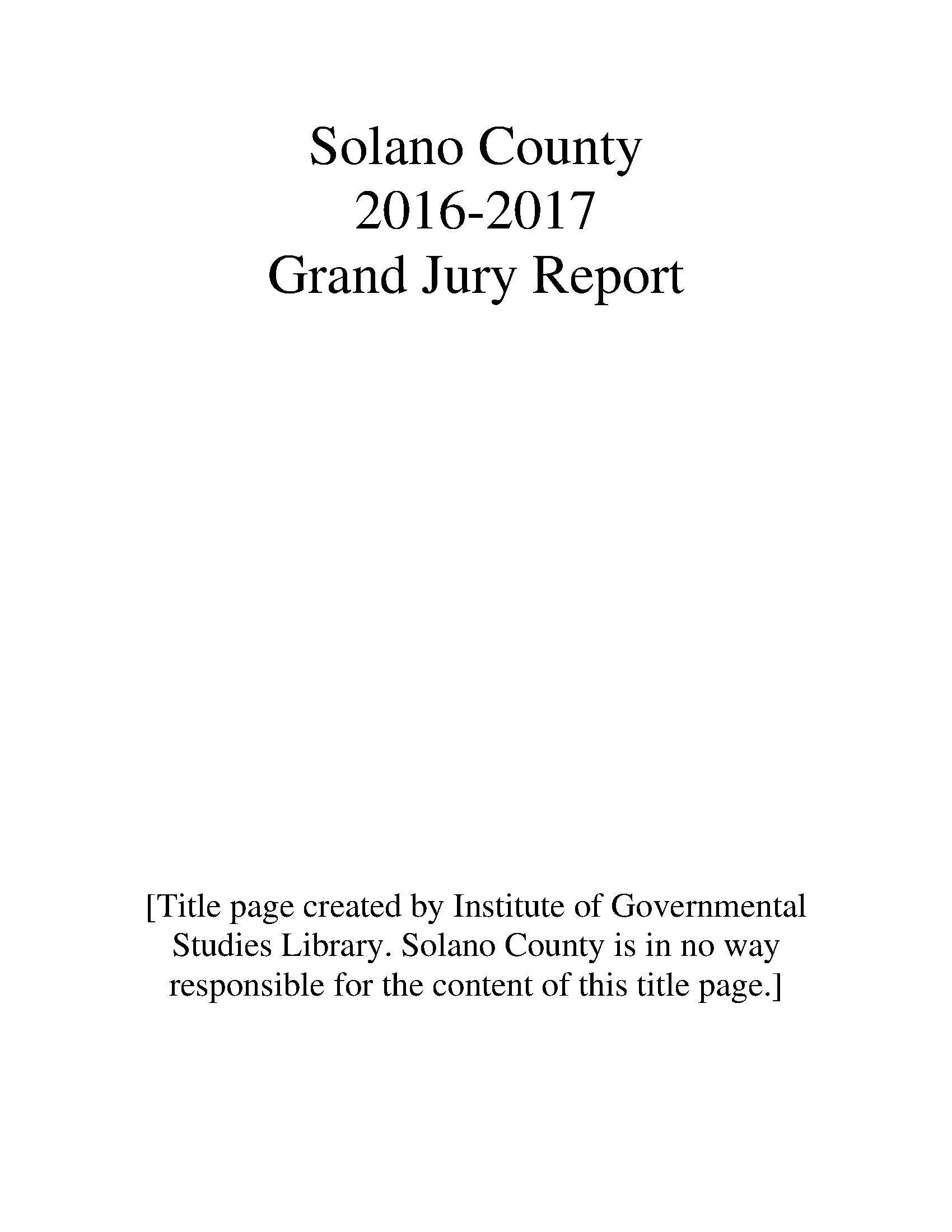Pasadena Isd Calendar 2019-2016 Grand Jury reports and responses   California Grand Jury Reports